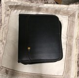Leather DVD/CD case (holds 48 disc's) in Camp Lejeune, North Carolina
