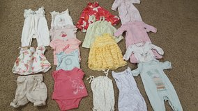 Lot of Baby Girl GAP clothes 0-3 months spring/summer in Bartlett, Illinois
