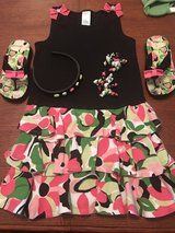 Girls Gymboree size 5 dress, shoes and hair accessories in Perry, Georgia