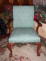Beautiful Conferance Cloth Covered Chairs with Claw Feet in Fort Leonard Wood, Missouri