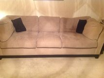 Microfiber couch in Ramstein, Germany