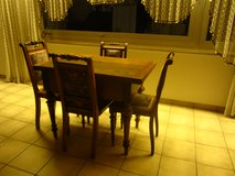 Vintage Table and Chairs in Ramstein, Germany