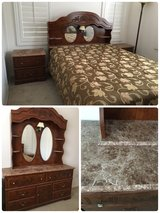 4Piece Queen Size Bed Room Set in Temecula, California