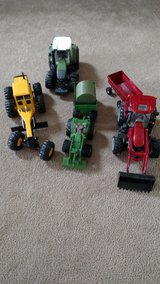 Tractor lot in Bolingbrook, Illinois