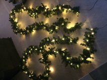 2 (16ft) Lighted Christmas Garland 220V in Springfield, Missouri