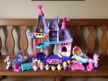 Little People Princess Castle, Cinderella & Ariel's Coaches, etc. in Bartlett, Illinois