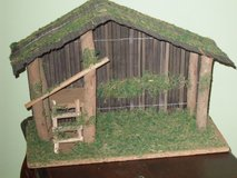 stable for nativity set 15w x 11h in St. Charles, Illinois