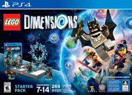 Lego Dimensions PS4 Starter Pack in Quad Cities, Iowa