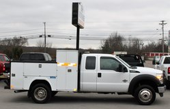 *1-OWNER* 2011 Ford F-450 Ex Cab Utility Bed 4x4 DRW SOUTHERN TRUCK in Lexington, Kentucky