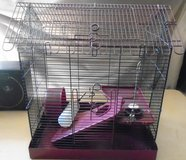 Hamster cage in Bolingbrook, Illinois