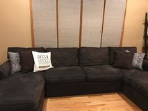 Large Sleeper Pit Couch for Sale - Excellent Condition in Bolingbrook, Illinois