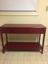 Red Console Table in Naperville, Illinois