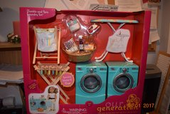 Our Generation Tumble And Spin Laundry Set pickup only joliet, il 60435 in Bolingbrook, Illinois