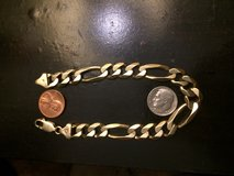 Men's gold  bracelet in Camp Lejeune, North Carolina
