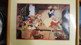 Snow White lithograph in Oceanside, California