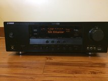 Yamaha RX-V463BL 525 Watt 5.1-Channel Home Theater Receiver w/ universal remote in Okinawa, Japan