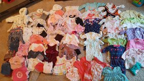 HUGE 118 piece Lot of Baby Girl clothes 3-6 months in Bartlett, Illinois