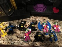 Batman house & figurine/toy assortment in Phoenix, Arizona