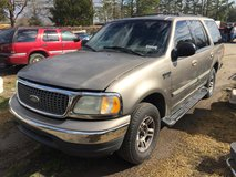 Parting Out 2002 Ford Expedition 2WD bad Motor in Camp Lejeune, North Carolina
