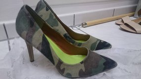 New Camouflage Shoes in Ramstein, Germany