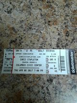 One ticket to Chris Stapleton concert ticket in Fort Benning, Georgia