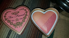 Too Faced blush in Yucca Valley, California