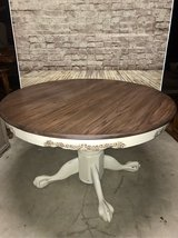 Vintage Pedestal Dining Table in Baytown, Texas