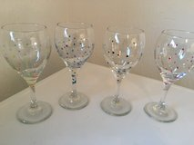 Set of wine glasses in Ramstein, Germany