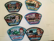 Boy Scout patches in Ramstein, Germany