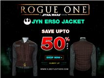 Jyn Erso Rogue One Star Wars Jacket and Vest in Algonquin, Illinois