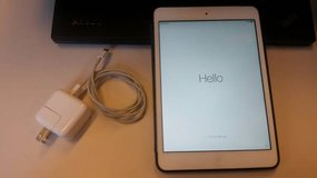 iPad MINI 64GB and AT&T cellular - case, power supply - excellent condition in Batavia, Illinois