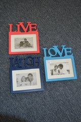Live, Laugh, and Love Picture Frames in Perry, Georgia