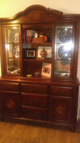 Reduced Price!! Exton Square China Cabinet  (Bought at Ashley Furniture) in Little Rock, Arkansas