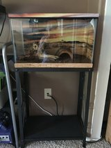 10 Gallon Reptile/ Tarantula Tank, Stand - Complete Kit! in Hemet, California