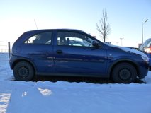 Reliable gas saver 2003 OPEL Corsa in Ramstein, Germany