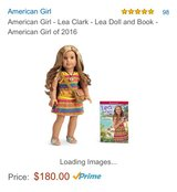 2016 American Girl Doll in Hinesville, Georgia