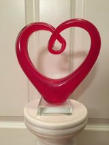 NEW Glass HEART Decor in Aurora, Illinois