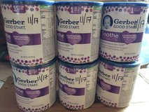 (6) Six Cans of Gerber Soothe Formula - SEALED in Beaufort, South Carolina
