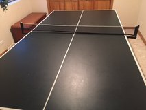 Ping Pong Table Folds up as well in Naperville, Illinois