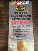 AUTOGRAPHED DAVE BLANEY NASCAR TICKET in Yucca Valley, California