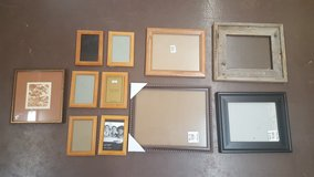 Lot of 12 Picture Frames in The Woodlands, Texas