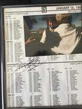AUTOGRAPHED VINCE GILL GOLF PROGRAM in Yucca Valley, California