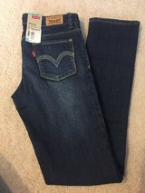 Girls Levi skinny jeans 14 reg in Plainfield, Illinois