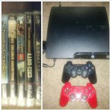 PS3 Bundle~2 Controllers/5 Games in Travis AFB, California