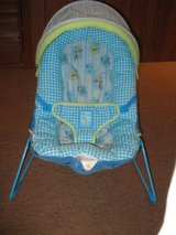 Baby bouncer seat w/canopy in Naperville, Illinois