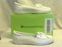 Women's HIGHVIEW WHITE CANVAS SHOES Grasshoppers Size 6 in 29 Palms, California