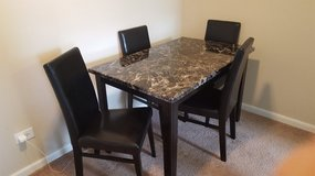 Dining set, Shadow Table and 4 Chairs - Black in Naperville, Illinois