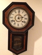 Antique Japanese 8 Day Regulator Clock in Bolling AFB, DC
