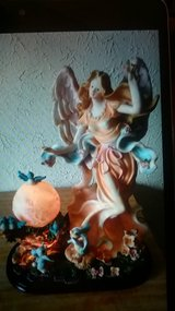 angel lamp in Yucca Valley, California
