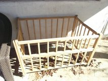 Folding Crib on Wheels in Alamogordo, New Mexico